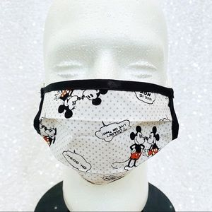 🔴4/$25 mickey & minnie comic book adult face mask